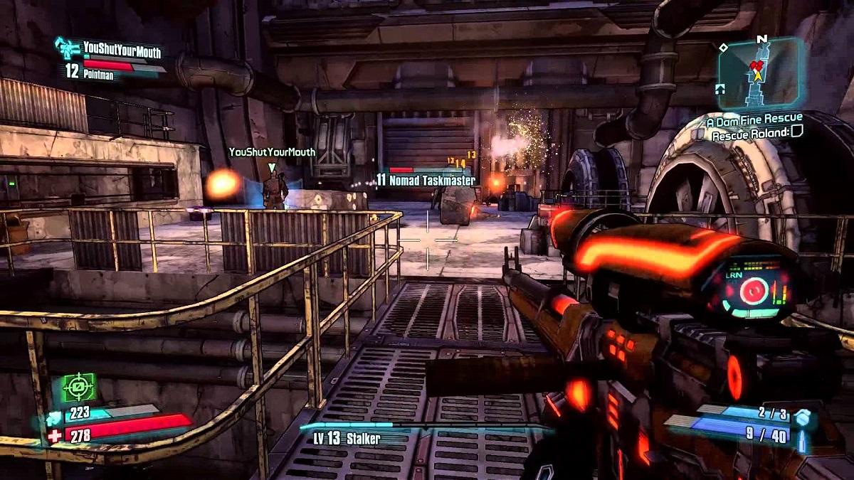Borderlands 2 - návod jak hrát multiplayer v lokální síti nebo přes