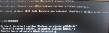 Jak opravit Windows XP
